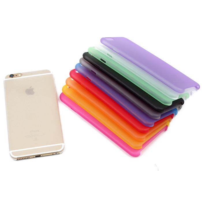 XT Apple iphone6 plus 5.5吋 超薄0.3mm (10色) 手機保護殼 A202