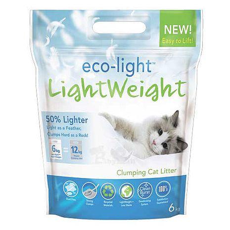【eco-ligth LightWeight】羽量級輕磅凝結環保砂 (6kg)