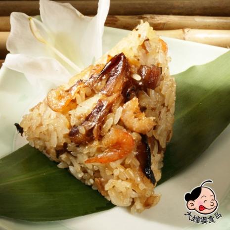 【大嬸婆】正宗野薑花粽2包組(80g±5%/顆 10顆/包)(1611)
