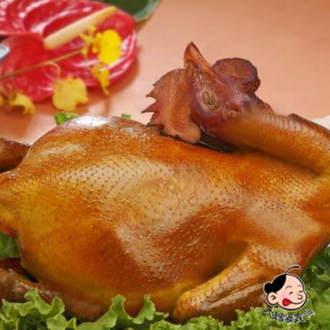 【大嬸婆】掛爐黃金甘蔗雞(1800g/隻)