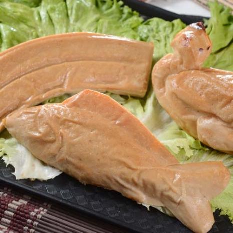 【大嬸婆】拜拜祈福素三牲(素雞+素肉+素魚)