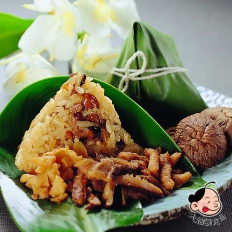 【大嬸婆】正宗野薑花素粽2包組(85g±5%/顆 10顆/包)