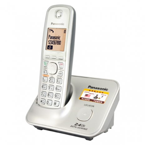 Panasonic 2.4GHz 數位高頻無線電話KX-TG3711