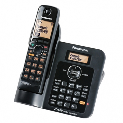 Panasonic 2.4GHz超高頻數位式無線電話KX-TG3811