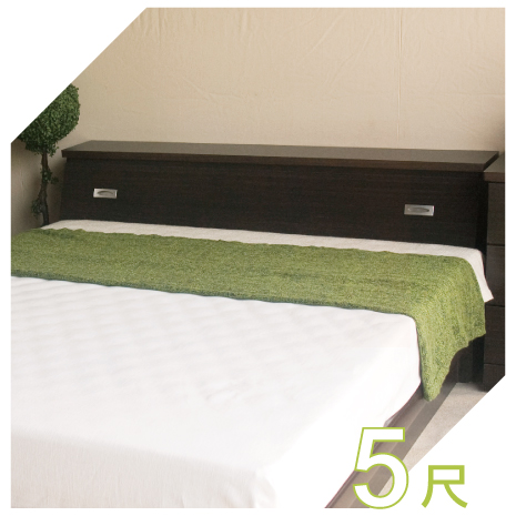 【YUDA】促銷款  5尺標準雙人床頭箱 (非床頭片/床頭櫃)4色可選 新竹以北免運費