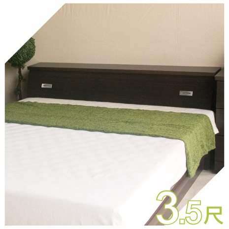 【YUDA】促銷款  3.5尺標準單人床頭箱 (非床頭片/床頭櫃)4色可選 新竹以北免運費