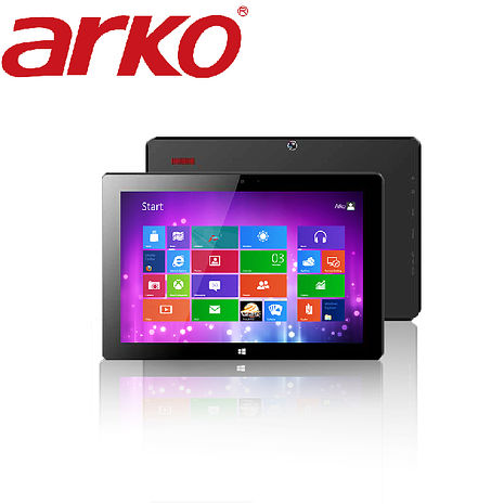 【ARKO】10.1吋2G四核心Intel Win10高效能HD平板電腦-MD-1002