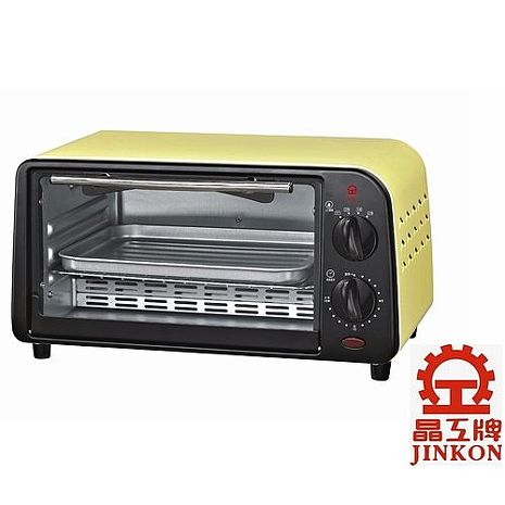 晶工牌9公升鵝黃色電烤箱(JK-609)
