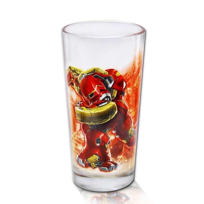 Marvel 授權 復仇者聯盟2:奧創紀元 英雄玻璃杯 MK44對決款
