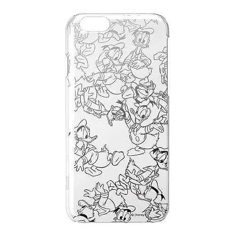 iJacket 迪士尼 iPhone 6/6s 4.7吋 銀箔 透明硬式保護殼 - 唐老鴨跑跑