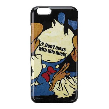 iJacket 迪士尼 iPhone 6/6s 4.7吋 塗鴉 復古硬式保護殼 - 摔跤唐老鴨