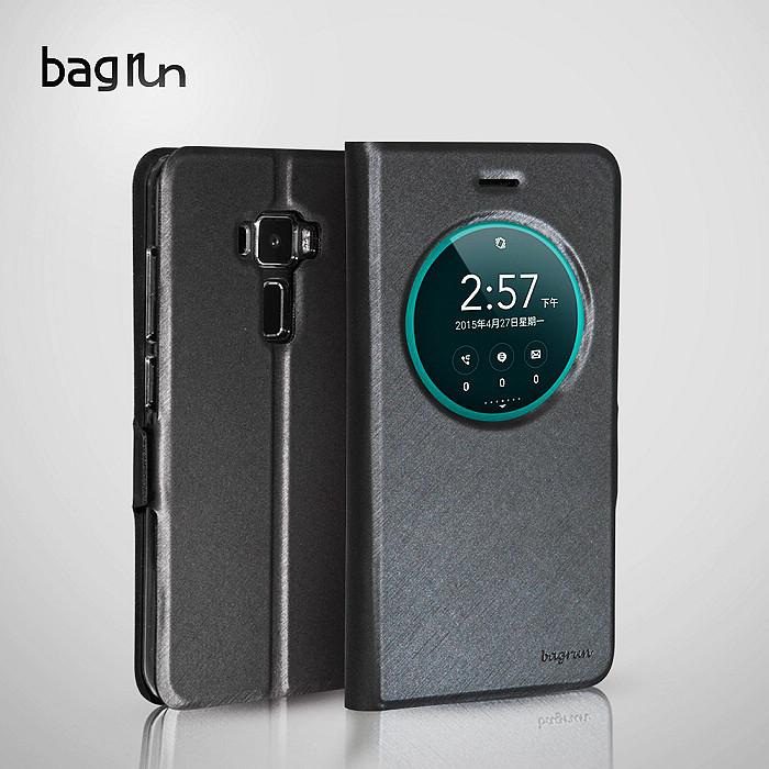 【Bagrun】Asus Zenfone 3 5.2吋 爵士開窗系列手機保護皮套