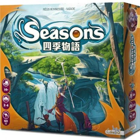 【新天鵝堡桌遊】四季物語 Seasons