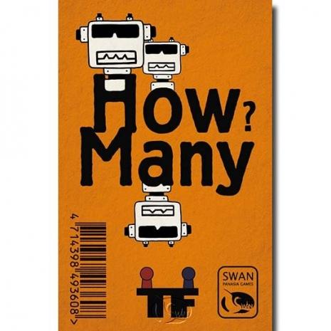 【新天鵝堡桌遊】有幾個? How Many? Robots-機器人英文版(贈布袋)