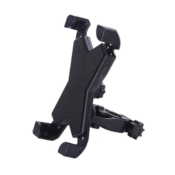 MK馬克 自行車腳踏車手機支架 3.5-7吋適用 黑色款