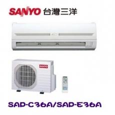 ~SANYO三洋~ 5~6坪定頻一對一分離式冷氣 ^(SAP~C36ASAP~E36A^)