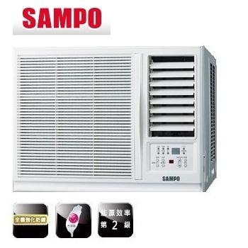 SAMPO聲寶 3-4坪 110V定頻右吹式窗型冷氣 (AW-PA122R) (含標準安裝+舊機回收)
