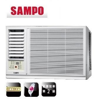 SAMPO聲寶 3-4坪 110V定頻左吹式窗型冷氣 (AW-PA122R1) (含標準安裝+舊機回收)