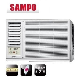 SAMPO聲寶 3-4坪定頻左吹式窗型冷氣 (AW-PA22R1) (含標準安裝+舊機回收)