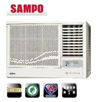 SAMPO聲寶  4-5坪變頻右吹式窗型冷氣 (AW-PA28D) (含標準安裝+舊機回收)