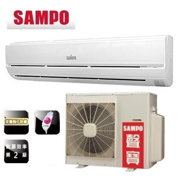 SAMPO聲寶  11-12坪定頻一對一分離式冷氣 (AM-PA72L/AU-PA72) (含標準安裝+舊機回收)