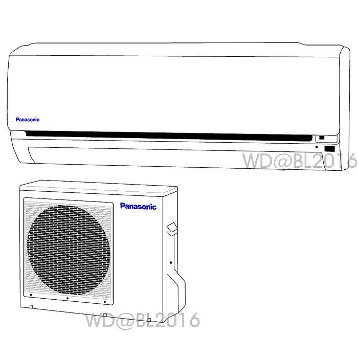 夏末降價送好禮Panasonic國際牌8~9坪定頻一對一分離式冷氣(CS-G45C2/CU-G45C2)含標準安裝+舊機回收