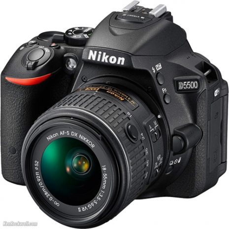 Nikon D5500 +18-55mm (中文平輸)~送副電等好禮