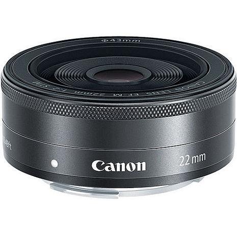 Canon EF-M 22mm F2.0 STM 定焦鏡(平輸-白盒)-送抗UV保護鏡43mm