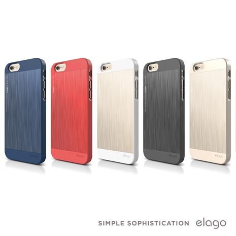 Elago Outfit iPhone 6/6S Plus 5.5吋 品牌鋁合金保護殼