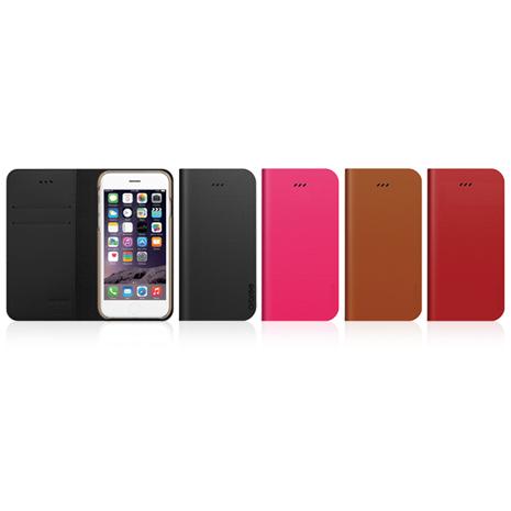 Araree iPhone 6/6S Plus 原創手工真皮皮夾側掀皮套 (正韓公司貨)