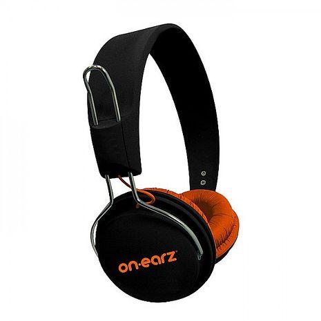 比利時On earz LOUNGE Black & Orange 橘武士耳機(庫存出清品)(外盒有些微髒污)