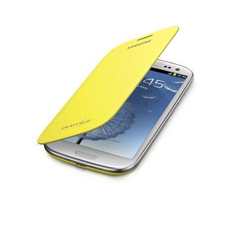 三星Samsung Galaxy S3 mini Flip cover 原廠手機皮套 (庫存出清品)(外盒有些微髒污)
