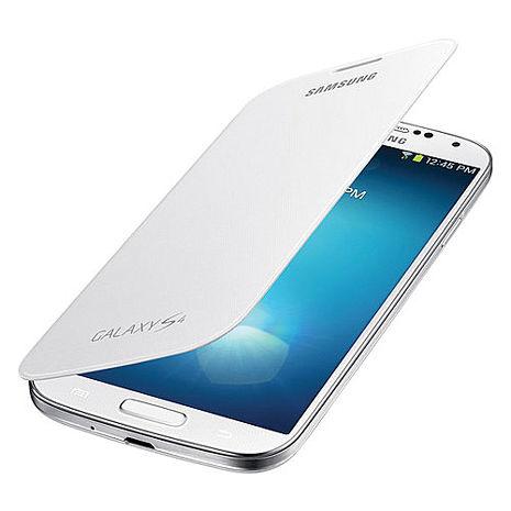 三星Samsung Galaxy S4 Flip cover原廠側翻皮套(庫存出清品)(外盒有些微髒污)