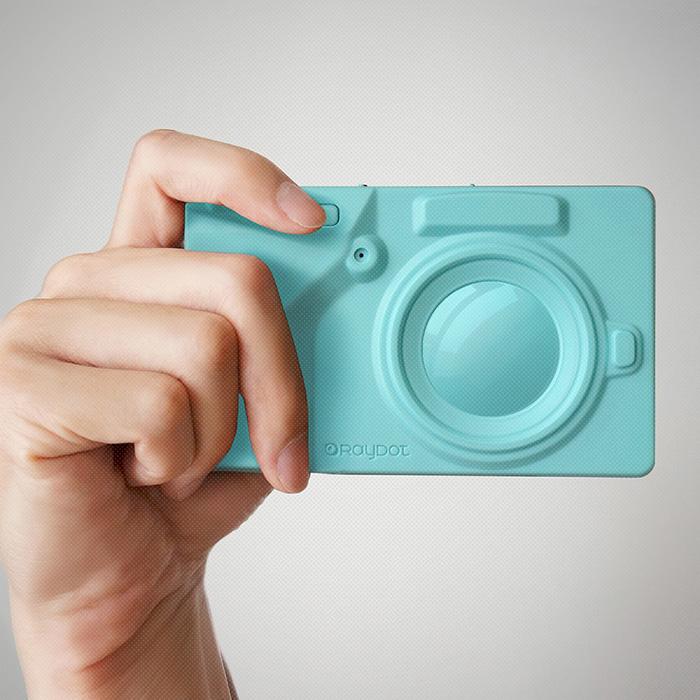 [LOMO 相機] RayDot_相機筆記本_藍