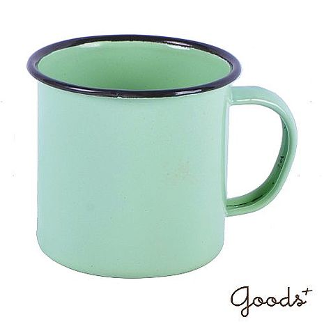 【goods+】復古琺瑯 經典素色咖啡7號杯_EC02(果綠)