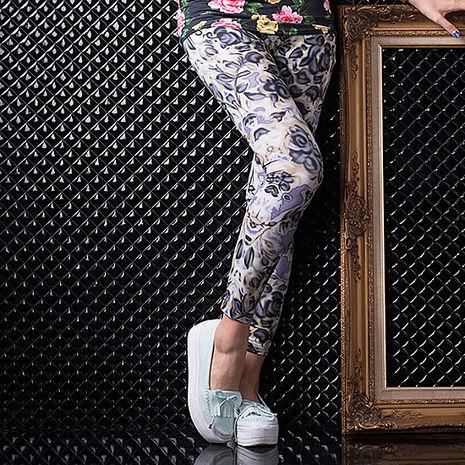 SHAPA CoolMax吸濕排汗內搭褲女紫玫瑰(預購)