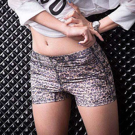 SHAPA CoolMax零著感安全褲女豹紋風(預購)