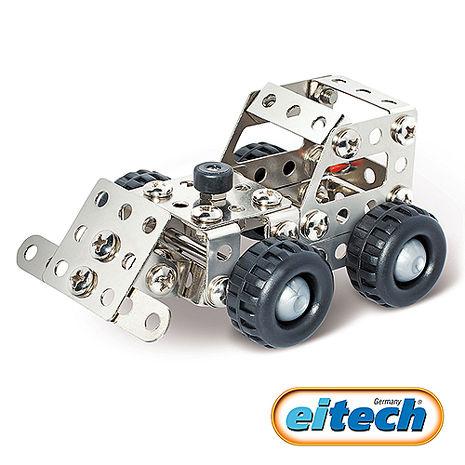【德國eitech】益智鋼鐵玩具-迷你推土機(C52)-特賣