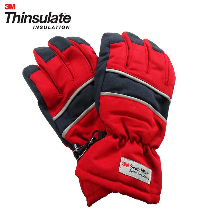3M Thinsulate 保暖防水反光手套(六款樣式)