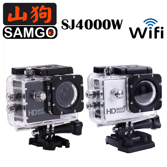 SAMGO山狗 SJ4000w  (Wi-Fi版)-運動攝影行車紀錄器【黑/銀】【特殺檔】