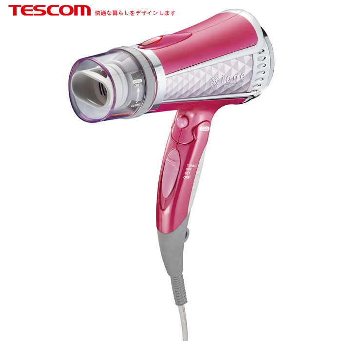 TESCOM TID960TW負離子吹風機-粉色