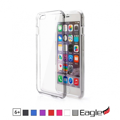 【Eagle 美國鷹】iPhone 6 Plus Hard Snap-On Case 珠光面保護硬殼(7色)