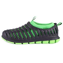 CCILU馳綠 – HERO 輕量鯊魚鞋(男) 黑綠 303003001