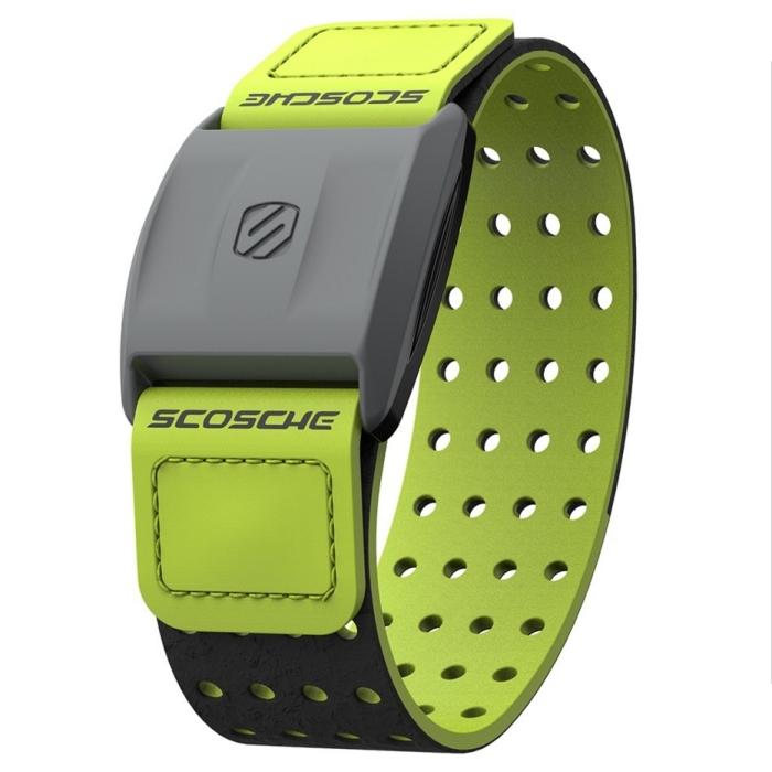 Scosche Rhythm+ 手臂式心跳帶 - 綠色(可搭配Garmin Polar Bryton PAPAGO等GPS手錶或iPhone,Android手機)
