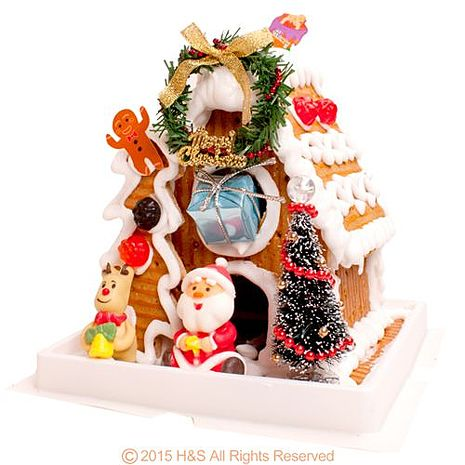 聖誕平安樹屋( 薑餅屋 DIY)《活動至12/23止》