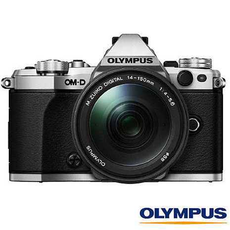 回函禮+送64G+原廠電池+清潔組+保護貼~ Olympus E-M5 Mark II + 14-150mm II 旅行鏡組 (EM5 M2 II,公司貨)