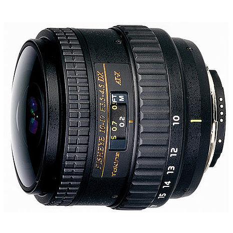 Tokina AT-X DX 10-17mm F3.5-4.5 魚眼 無遮光罩版 全幅可(10-17立福公司貨) Nikon用