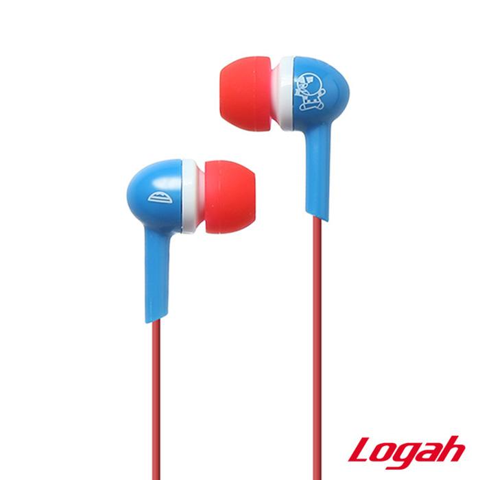 Logah 漫威KAWAII系列耳塞式線控耳機EP017A 美國隊長
