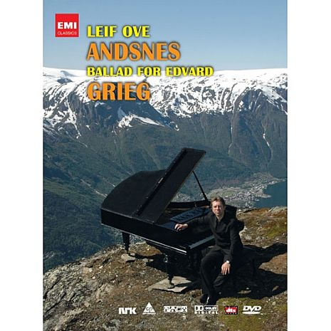 【麗音影音】安斯涅◎葛利格鋼琴協奏曲,敘事曲與抒情小品 DVD