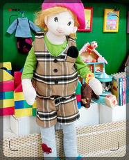 ↖大圓衣兒↗  雙面保暖帥氣假口袋巾 格紋 背心 褲 套裝男女童都
